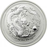 Australien Silber-Unze 2012 Jahr des Drachen