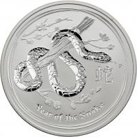 Australien Silber-Unze 2013 Jahr der Schlange