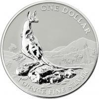 Australien Silber-Unze 2013 Känguruh