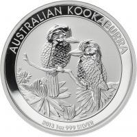 Australien Silber-Unze 2013 Kookaburra