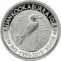 Australien Silber-Unze 2015 Kookaburra
