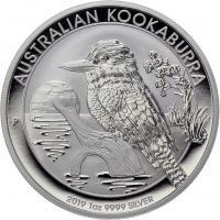 Australien Silber-Unze 2019 Kookaburra