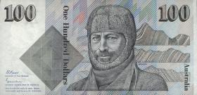 Australien / Australia P.48b 100 Dollars (1984-92) (1)