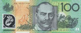 Australien / Australia P.55a 100 Dollars (19)96 Polymer (1)