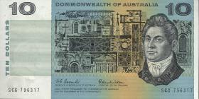 Australien / Australia P.40a 10 Dollars (1966) (1)