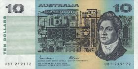 Australien / Australia P.45e 10 Dollars (1985) (2+)