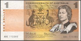 Australien / Australia P.37a 1 Dollar (1969) (3)