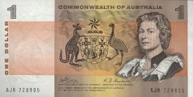 Australien / Australia P.37c 1 Dollar (1969) (1)