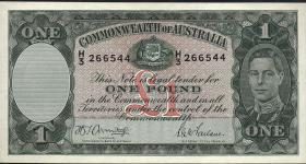 Australien / Australia P.26b 1 Pound (1942) (1/1-)