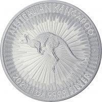 Australien Silber-Unze 2021 Känguruh