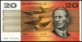 Australien / Australia P.46h 20 Dollars (1991) (1)