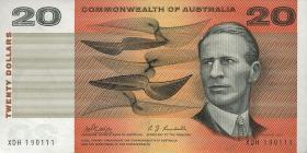Australien / Australia P.41c 20 Dollars (1968) (1)