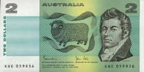 Australien / Australia P.43d 2 Dollars (1983) (1)