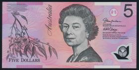 Australien / Australia P.57c 5 Dollars (2005) Polymer (1)