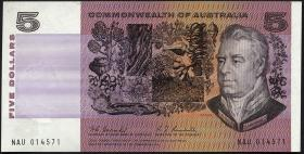 Australien / Australia P.39a 5 Dollars (1967) (1)