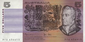 Australien / Australia P.44d 5 Dollars (1983) (1)