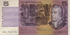 Australien / Australia P.44e 5 Dollars (1985) (3+)