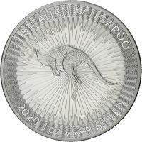 Australien Silber-Unze 2020 Känguruh