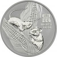 Australien Silber-Unze 2020 Mouse