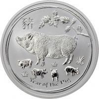 Australien Silber-Unze 2019 Jahr des Schweins