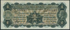 Australien / Australia P.16c 1 Pound (1926-32) George V. (3)