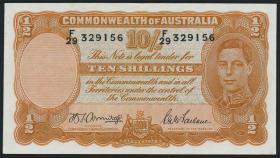 Australien / Australia P.25b 10 Shillings o.J. (2)