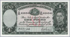 Australien / Australia P.26b 1 Pound (1942) (2/1)