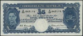 Australien / Australia P.27d 5 Pounds (1952) (1)