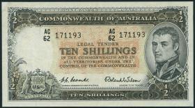 Australien / Australia P.29 10 Shillings (1953-1960) (3+)