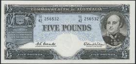 Australien / Australia P.35a 5 Pound (1960-65) (1)