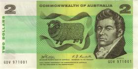 Australien / Australia P.38c 2 Dollars (1968) (2)