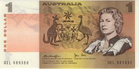 Australien / Australia P.42c 1 Dollar (1979) (1)
