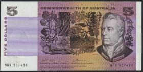 Australien / Australia P.44a 5 Dollars (1974) (1)