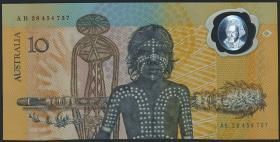 Australien / Australia P.49b 10 Dollars (1988) Polymer (1)