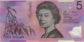 Australien / Australia P.57f 5 Dollars (20)08 Polymer (1)