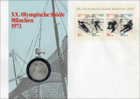 B-0001.a • Olymp. Spiele München 1972 >Bonn