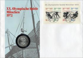 B-0001.c • Olymp. Spiele München 1972 >Kiel