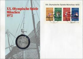 B-0002.a • Olymp. Spiele München 1972 >Bonn