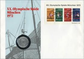 B-0002.b • Olymp. Spiele München 1972 >München
