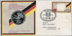 B-0004 • 25 Jahre Bundesrepublik Deutschland