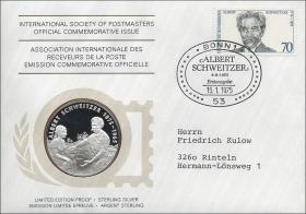 B-0005 • Albert Schweitzer - 100.Geburtstag