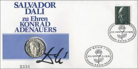 B-0007 • Adenauer - Salvadore Dali