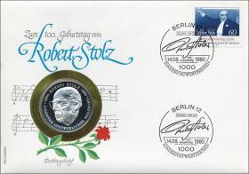 B-0025 • Robert Stolz - 100.Geburtstag