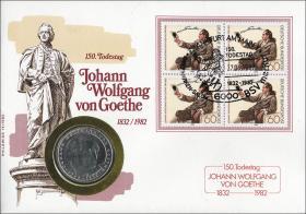 B-0030 • Goethe - 150.Todestag