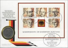 B-0034 • Bundespräsidenten der BRD