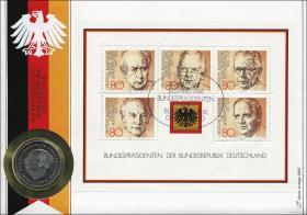 B-0035 • Bundespräsidenten >Borek-Erstausgabe