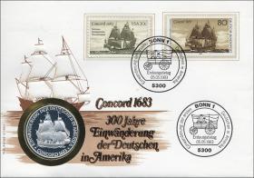 B-0036 • Concord / Einwanderung nach Amerika