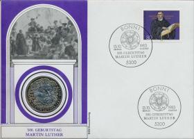 B-0041 • Martin Luther - 500. Geburtstag