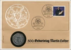 B-0042 • Martin Luther >Borek-Erstausgabe