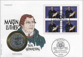 B-0043 • Martin Luther - 500.Geburtstag